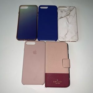 iPhone 7 Plus cases lot of 5